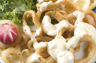 Calamares en Salsa Bechamel