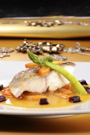 Recetas de bacalao: Bacalao en salsa de mandarina
