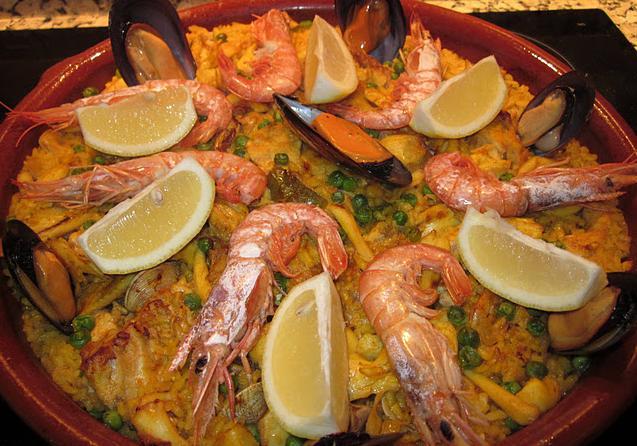 Recetas de marisco: Paella de marisco