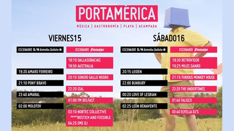 Música y gastronomía en PortAmérica