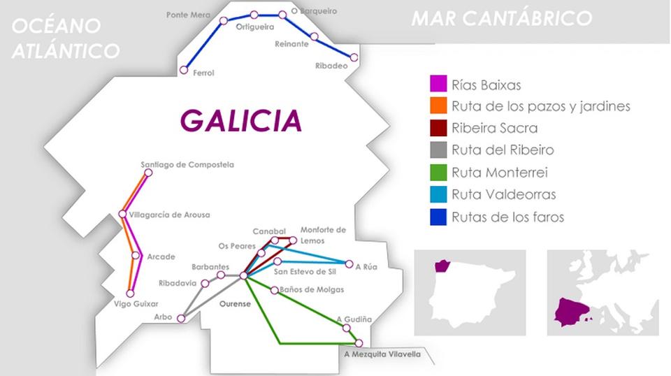 Trenes Turísticos en Galicia: 8 viajes únicos
