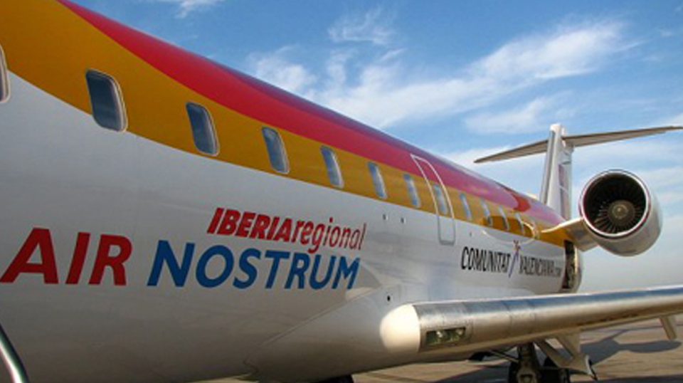Nuevo vuelo de Air Nostrum, Vigo-Valencia