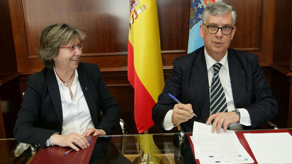 Nuevo convenio entre A Consellería do mar y Anfaco
