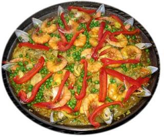 Recetas afrodisíacas: Recetas de San Valentín, arroz con marisco