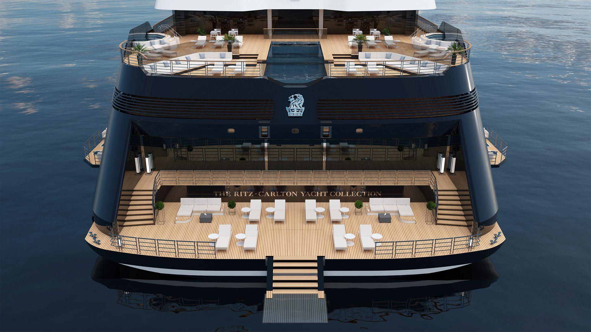El primer viaje europeo del crucero The Ritz-Carlton, hará escala en Vigo