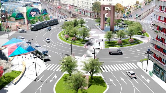 La peatonalización de la plaza de América arranca esta semana