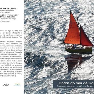 Ondas do mar de Galicia