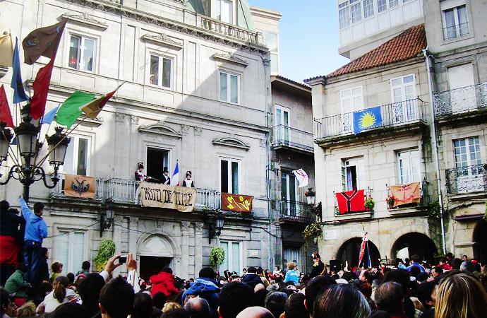 La Fiesta de la Reconquista de Vigo cumple 25 años