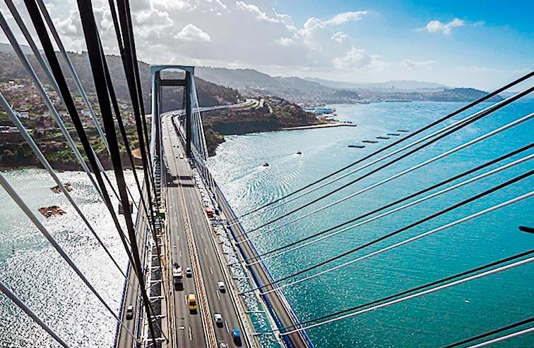 El puente de Rande, galardonado como el segundo mejor del mundo