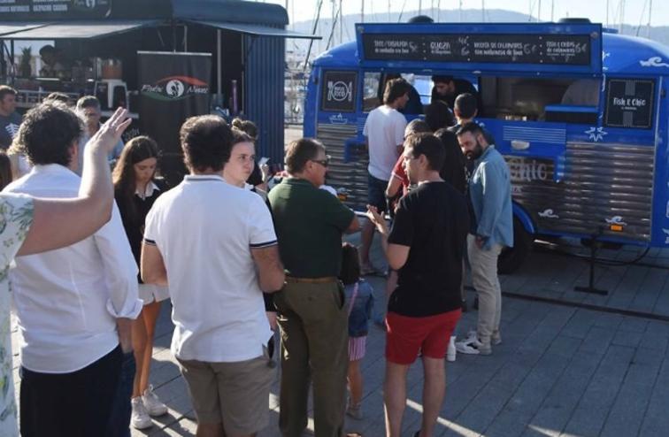 Éxito del foodtruck Fish&Chic by Pereira en el Vigo Sea Fest