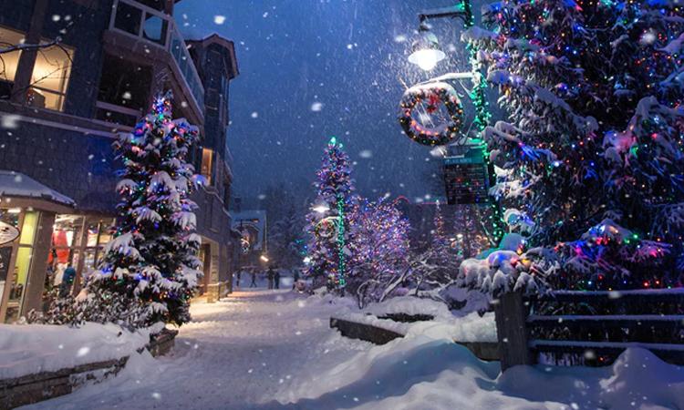 La nieve llega a Vigo por Navidad