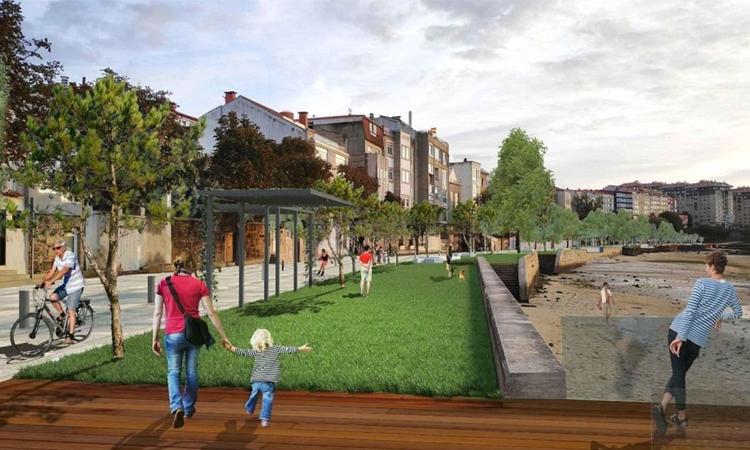 La reforma del Paseo de Bouzas ya está aprobada por el Concello