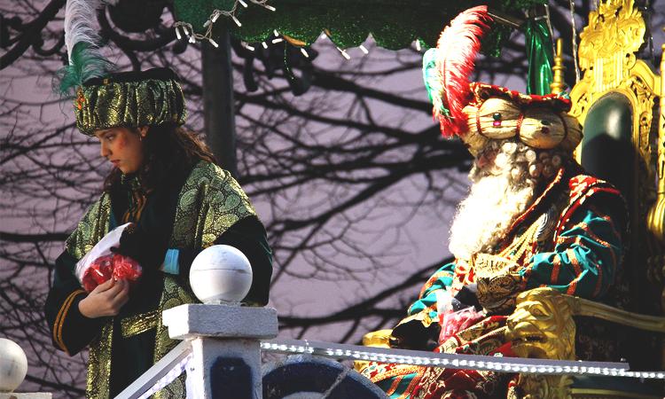 Los Reyes Magos llegan a Vigo