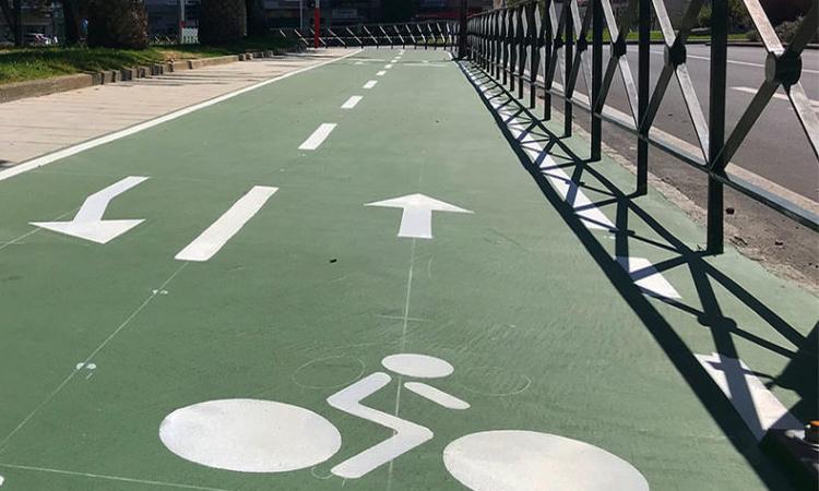 Los nuevos kilómetros de senda ciclista ya disponibles