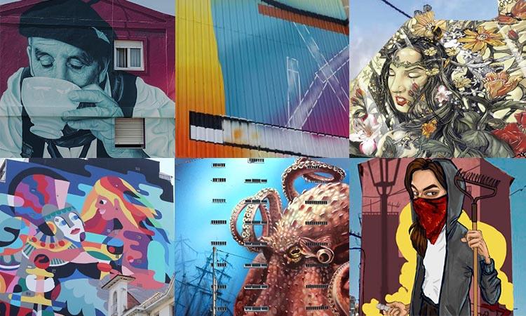 El programa de arte urbana de Vigo progresa con la propuesta de Equipo Plástico