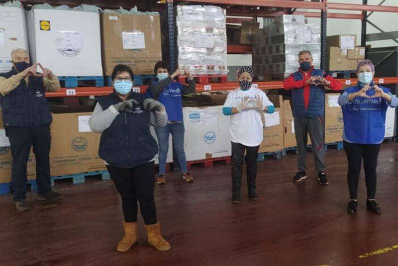 La Gran Recogida Virtual del Banco de Alimentos recauda 550.000 kilos de comida