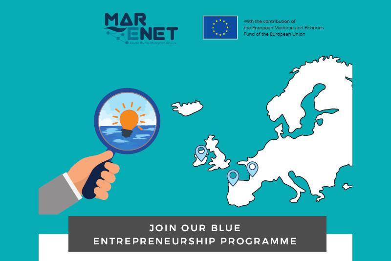 El proyecto MarENet pone en marcha el programa de Emprendimiento Azul 2021